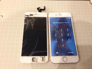 iPhone6s 画面交換修理