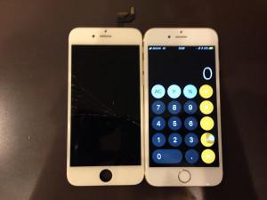 アイフォン6s ガラス+液晶