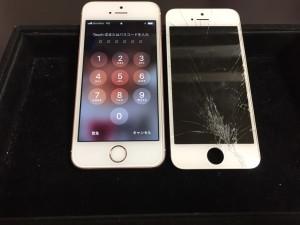 アイフォンSE画面修理