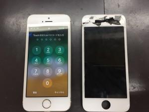 iPhone5s液晶画面修理