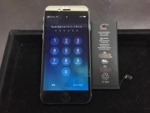 iPhoneSE電池交換