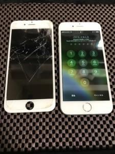 iPhone6 液晶画面修理