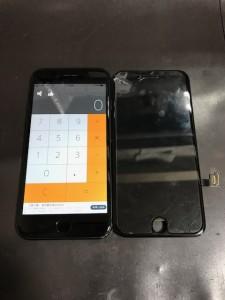 iPhone7Plus 画面割れ修理