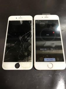iPhone6フロントパネル修理