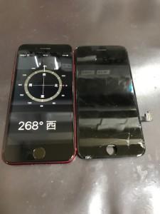 アイフォン8画面リペア