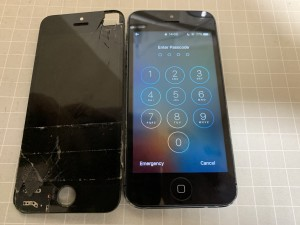 iPhone5画面修理