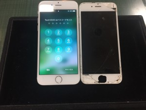 iPhone6sパネル交換