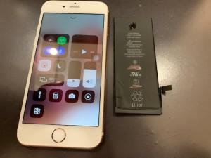 iPhone6電池交換