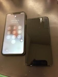 アイフォン10S 画面修理