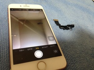 iPhone7インカメ修理