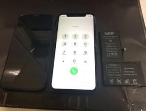 iPhoneX系バッテリー交換