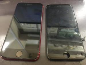 アイフォンSE2 画面割れ